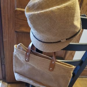 San Diego Hat Co hat, and matching zip top tote